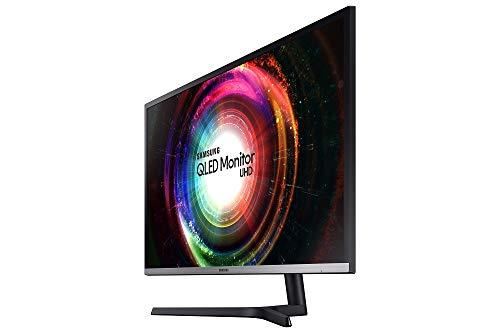 Samsung U32H850UMU 81.28 cm (32 Inches) Monitor (LCD/LED, HDMI, DP, Piv, 4 ms Response Time, 3840 x 2160 Pixel) Black