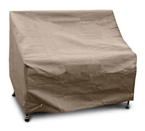 KOVERROOS III 37351 Dossier Haut Loveseat/Housse de canapé, 124,5 cm (L) x 86,4 cm de diamètre 101,6 cm de Hauteur, Taupe