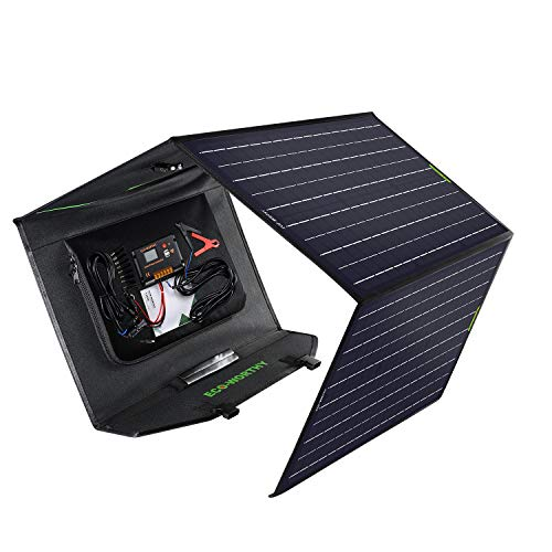 Eco-Worthy 120W Complete Off-Grid Foldable Solar Panel Charger