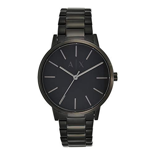 Reloj Armani Exchange Smart para Hombres 42mm, pulsera de Acero Inoxidable