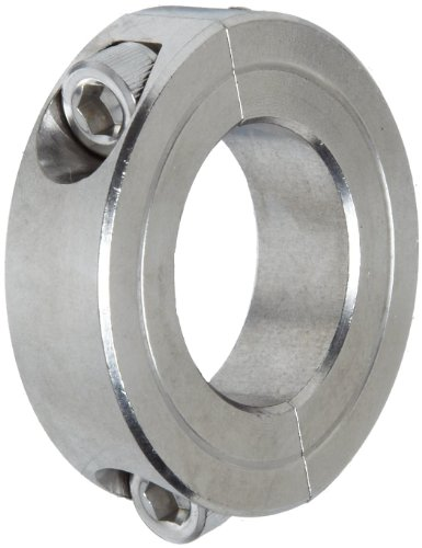 Climax Metal 2C-100-S T303 Stainless Steel Two-Piece Clamping Collar, 1