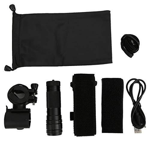 DAUERHAFT DV Camcorder Action Kamera Mini Taschenlampe Form, für Familienfeiern, für Outdoor-Radfahren