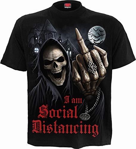 Spiral - Social Distance - T-Shirt Black - M
