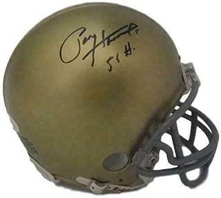 Paul Hornung Autographed Notre Dame Fighting Irish Mini Helmet 56 H 20087 - JSA Certified - Autographed College Mini Helmets