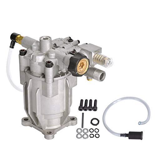 SurmountWay 3200PSI Pressure Washer Pump Horizontal 3/4' Shaft Replacement Power Washer Pump 2.4 GPM for 309515003,308418007, K2400HH (Horizontal)