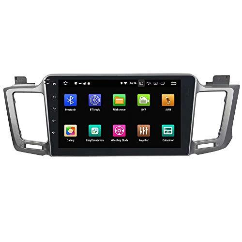 ROADYAKO Android 8.1 Auto Medai pour Toyota RAV4 2012 2013 2014 2015 Autoradio Stéréo 8Inch avec Navigation GPS 3G WiFi Lien de Miroir RDS FM AM Bluetooth