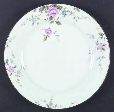 Noritake China FIRENZE Dinner Plate - pink roses - 6674