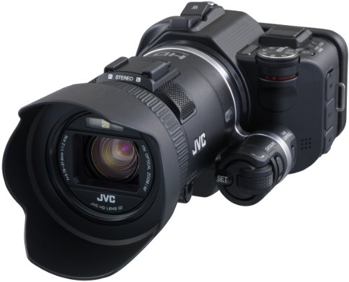 JVC GC-PX100BEU - Videocámara Full HD (12.8 MP, WiFi, Pantalla 3