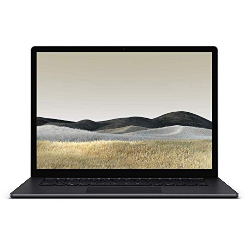 MS Surface Laptop 3 15 - 15' Touchscreen (2496 x 1664) - Intel Core i7 1065G7 - 16GB - 512GB SSD - Win 10 pro - Bundle Includes Microfiber Cleaning Cloth (Renewed)
