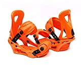 LP-LLL Outdoor Adjustable ski Shoes - Hiking Snowshoes Snow Shoes Ski Skates for Men and Women,Lightweight Snowshoes,Mini Ski Skates Ski Equipment(Orange)
