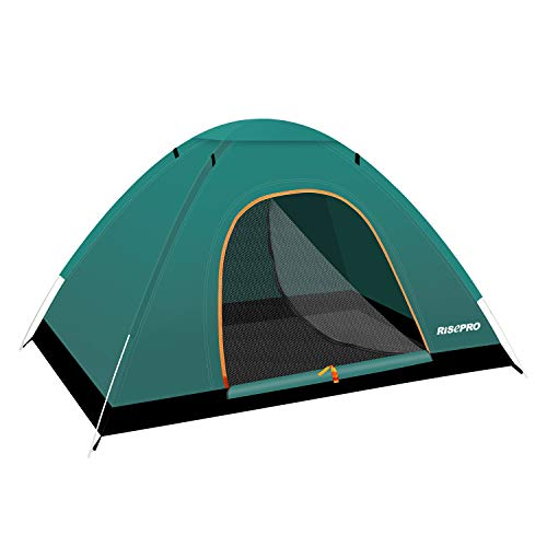 RISEPRO instant automatic pop up tent, 2 Person Lightweight Tent,Waterproof Windproof, UV Protection, Perfect for Beach, Outdoor, traveling,hiking,camping, hunting, fishing, etc