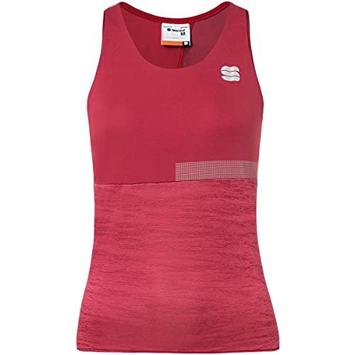 Sportful Camiseta de tirantes Giara para mujer, rojo, M