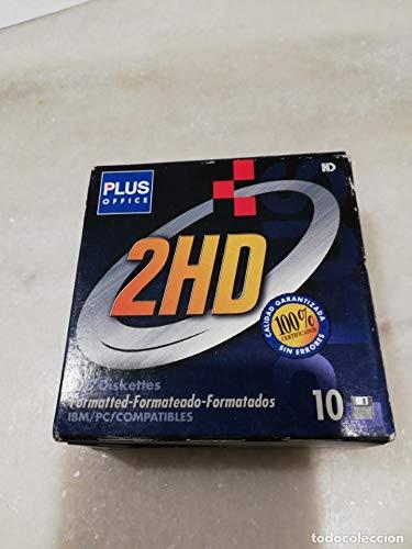 Plus Office Diskette 2HD 3,5 Pulgadas 10 Unidades