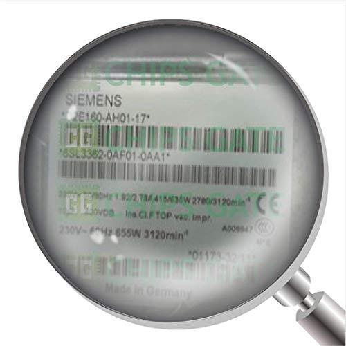 1 ventilador de flujo axial de inversor usado 6SL3362-0AF01-0AA1 D2E160-Ah01-17 Te