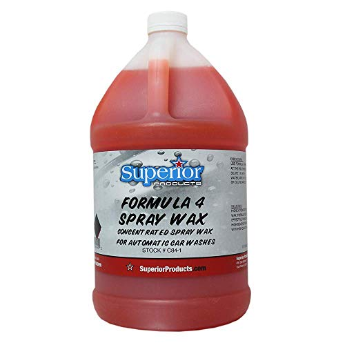 Superior Products Formula 4 Spray Wax 1 Gal