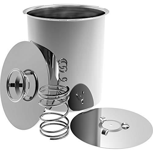 Jamonero eléctrica Impresión Jamonero Hervidor 1,5kg 3kg eléctrica Jamonero Prensa suflés eléctrica, acero inoxidable, für 3kg Fleisch