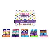 trendaffe Polka Tots Cucamelon Socken für Kleinkinder (5 Paar) - Strumpf