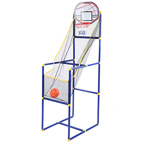Alomejor Juego de Tiro de Baloncesto, Juguete para el hogar, Interior, máquina de Tiro de Baloncesto extraíble, Soporte, Juego de aro para niños
