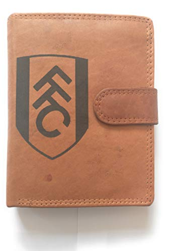 Fulham FC RFID brown leather wallet leather