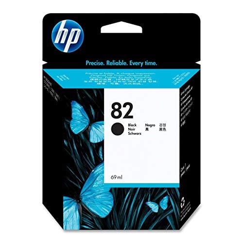 HP 82 69-ml Black Ink Cartridge for HP Designjet 510ps CJ996A and CJ997A Printers (CH565A)