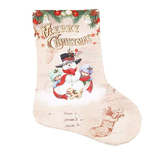 Holo Cute Weihnachten Strumpf Neue Jahr Geschenk Candy Taschen Große Santa Claus Socke Weihnachten Baum Dekoration Geschenk Halter