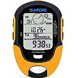 SUNROAD GPS extérieur pré - Avertissement rappeler étanches Altitude numériques Boussole chronomètre Sports altimètre...