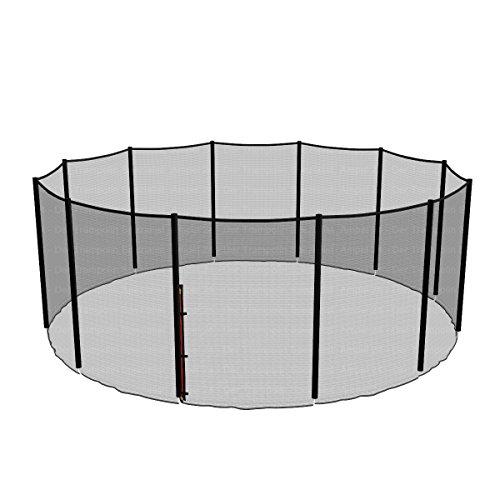 Ampel 24, Red de Seguridad de reemplazo para Cama elástica 305 cm y 8 Barras | Barras no Incluidas | Resistente a los UV | Red Exterior