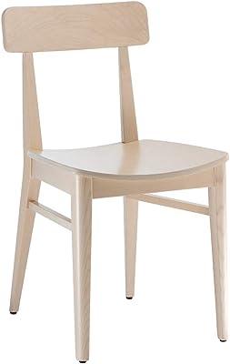 Dogar Altea Set 2 Sillas, Pino, Miel, 98.5x42x45 cm, 2 ...