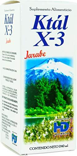 Jarabe para el insomnio con ingredientes naturales Ktal X-3 Acción relajante, inductor del sueño