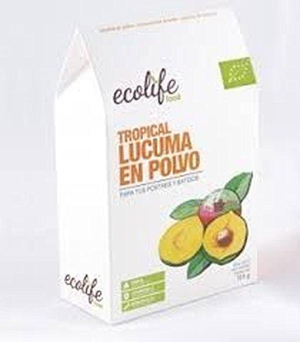 Lucuma Tropical Polvo Bio 125 Gr de Ecolife Food