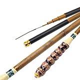 La Caña De Pescar De Bambú, Súper Liviana 28 Herramienta De Pesca De Caña De Pescar Ajustable Se Puede Contratar Portátil (Tamaño : 5.4)
