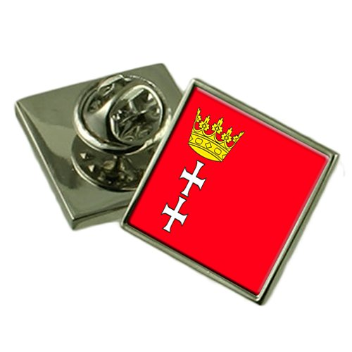 Select Gifts Stadt Danzig Polen Flagge Ehrennadel Abzeichen Tasche
