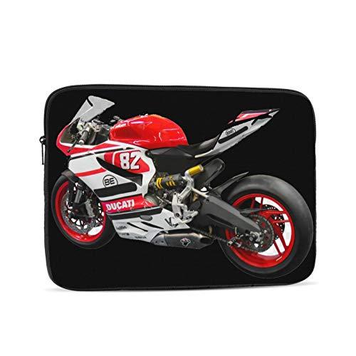 Coole Ducati Fahrrad Reißverschluss Laptop Hülle Fall Notebook Computer Tasche tragbare Universal Koffer Hülle Polyester für 17 Zoll