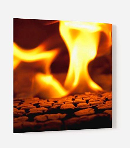 'Boden für Dunstabzugshaube MDF Holz Composite Aluminium