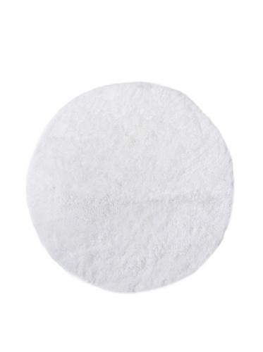 Dyckhoff Badteppich weiß rund - 100 cm Durchmesser