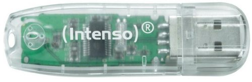 Intenso Rainbow Line 32 GB USB-Stick USB 2.0 transparent