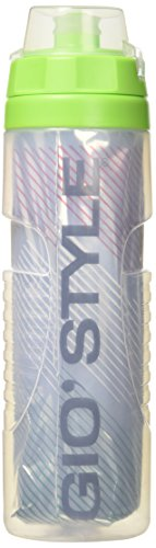 GIOSTYLE – T, Gourde Mixte Adulte, Transparent, 7.5 x 26.6 cm
