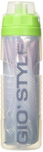 giostyle T, Borraccia Unisex – Adulto, Trasparente, 7.5 x 26.6 cm