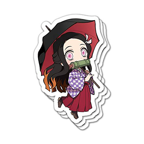 Lopenuter Demon Slayer Nezuko Umbrella Chibi Style Japanese Anime