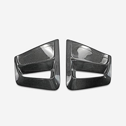 for 12-15 Toyota Prius ZVW30 Facelift SKBZ Style carbon fiber Front Fog Light Cover