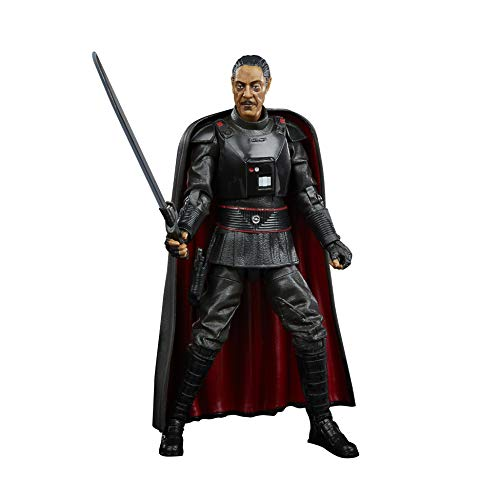 Star Wars The Black Series Moff Gideon Toy 6-Inch Scale The Mandalorian Collectible Action Figure, Toys For Kids Ages 4 and Up