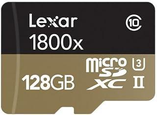 Cartão de memória - microSDXC - 128GB - Lexar Professional UHS-II 1800X - LSDMI128CRBNA1800R (c/ Leitor USB 3.0)