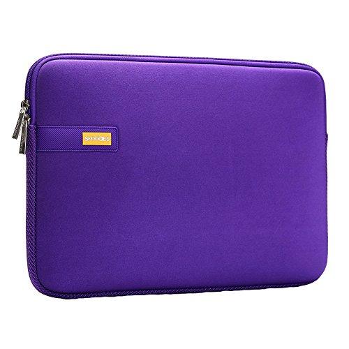 Laptop Purple Sleeve Bag 13.3'£¨360 * 255mm£- Fabric Waterpoof Zipper Bags for iPad Pro Tablet Laptops Macbook Notebook Computers