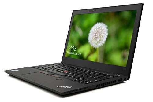 "Lenovo ThinkPad X280 Notebook i3-8130U 8GB DDR4 RAM, 256GB SSD 12,5"" FHD IPS Win 10 Pro, 20KESF5B04 Laptop, 16 h Akku-Laufzeit, Full HD, Fingerprint Reader, Webcam, Bluetooth, Thunderbolt-3, Nano-SIM"
