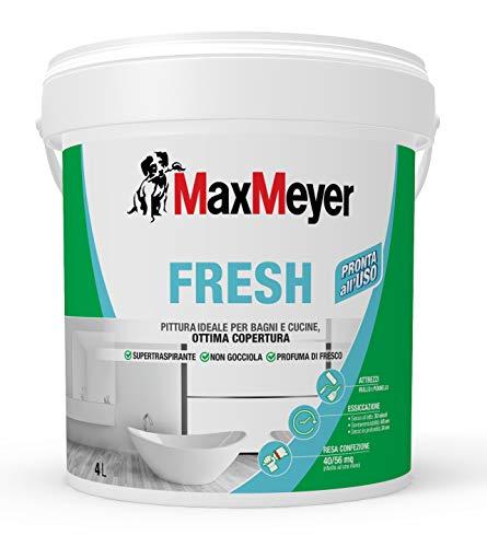 MaxMeyer Pittura per interni Bagni& Cucine Fresh BIANCO 4 L