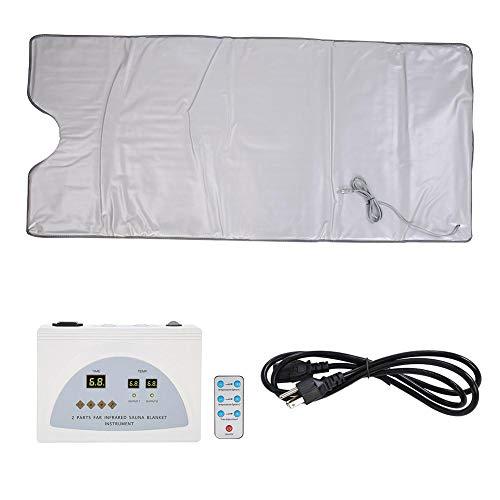 Sauna coperta termica coperta infrarosso riscaldamento sauna che dimagrisce Detox terapia macchina,anti invecchiamento professionale dimagrante alleviare l'affaticamento