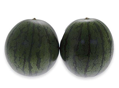 フルーツなかやま 熊本県産 黒夢小玉すいか【ひとりじめbonbon】2個入 大きさ12cm以上 糖度12度以上