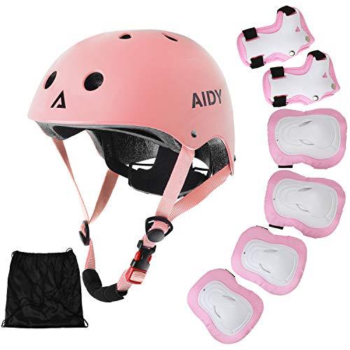 AIDY Casque Vélo Enfant Kit de...