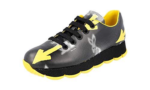 Prada Damen Mehrfarbig Leder Sneaker 1E654G 40.5 EU