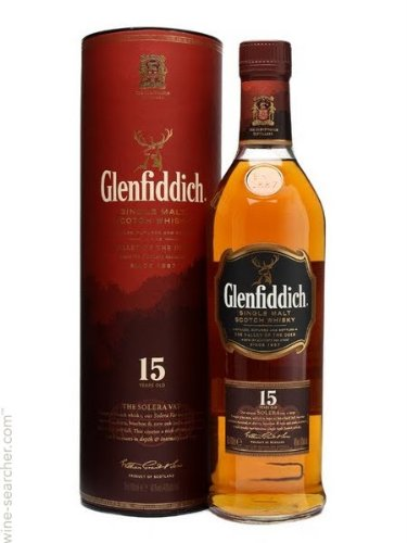 Glenfiddich 15 year old Single Malt Scotch Whisky 20cl Bottle